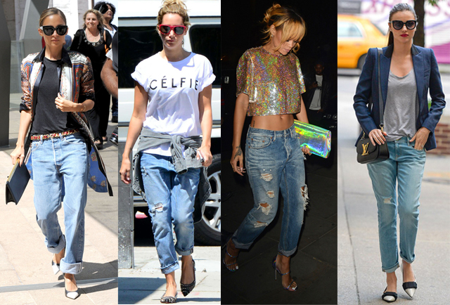 how to style the boyfriend jean