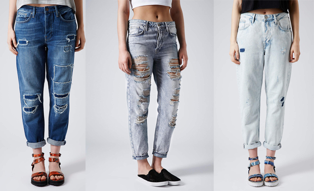 How To Diy Ripped Boyfriend Jeans | DIY