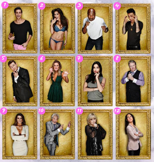 Celebrity big brother 7 housemates quotes