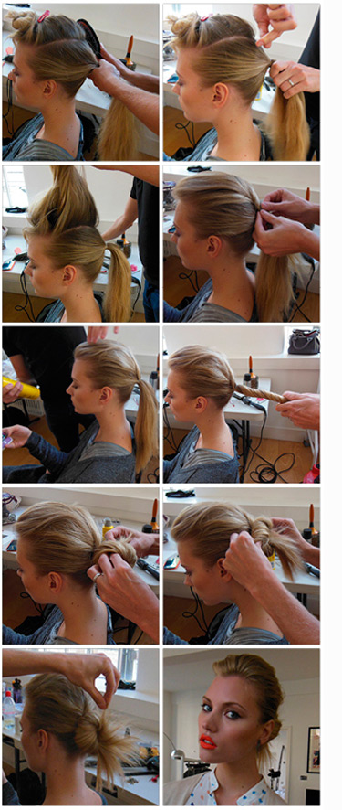 Enjoyable Step By Step Hairstyle How To Do The Perfect Double Ponytail Hairstyles For Women Draintrainus