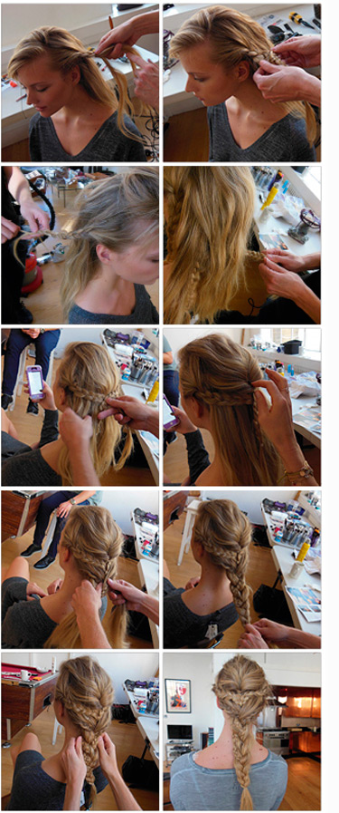Remarkable Step By Step Hairstyle How To Do The Perfect Braided Plait A Short Hairstyles Gunalazisus