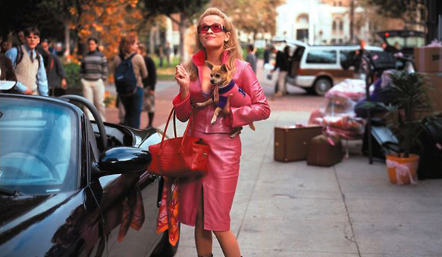Elle Woods Legally Blonde Fashion Pink Trend 2014